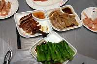 Shun Kee Typhoon Shelter Dinner <p> 	All this food was prepared on a floating restaurant (typhoon shelter)</p>