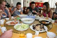 Lunch- Zhapo Bay <p> 	Typical Chinese meal served family style</p>