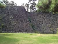 The Imperial Palace  <p> 	This stone wall is about 6 stories high</p>