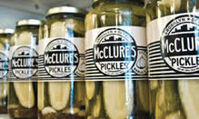 click here to read more about McClure's Pickles