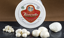 click here to read more about Farmerette Mozzarella